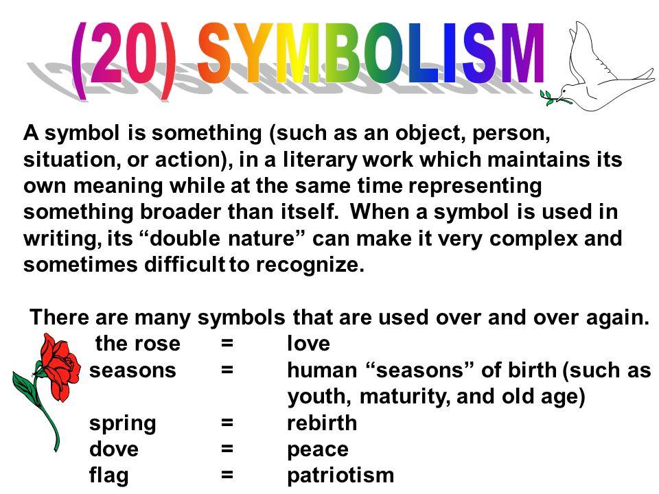 (20) SYMBOLISM