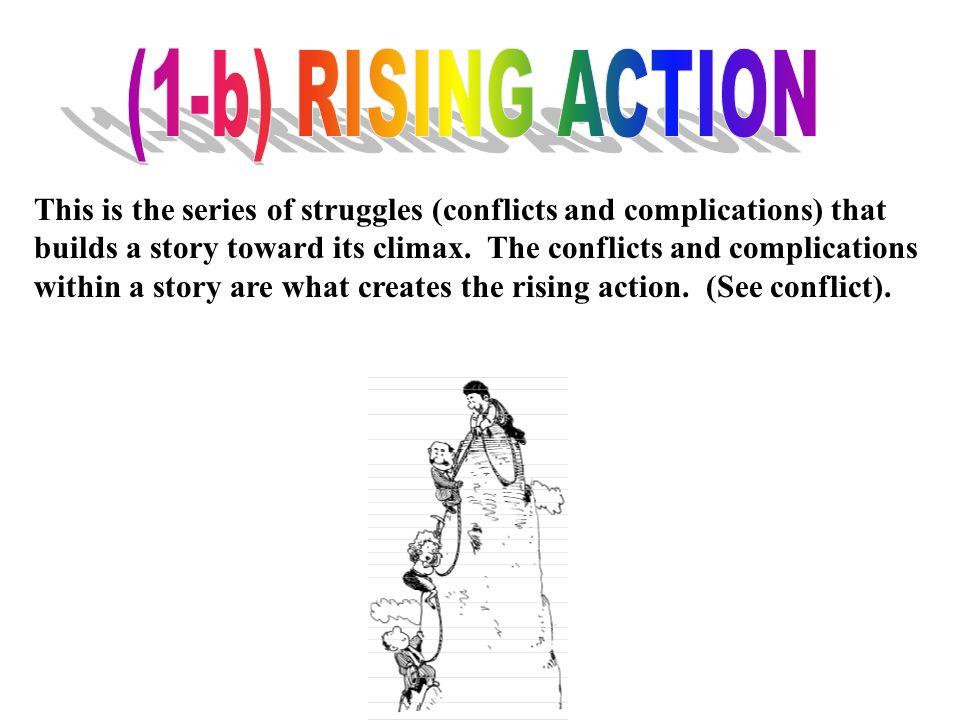 (1-b) RISING ACTION