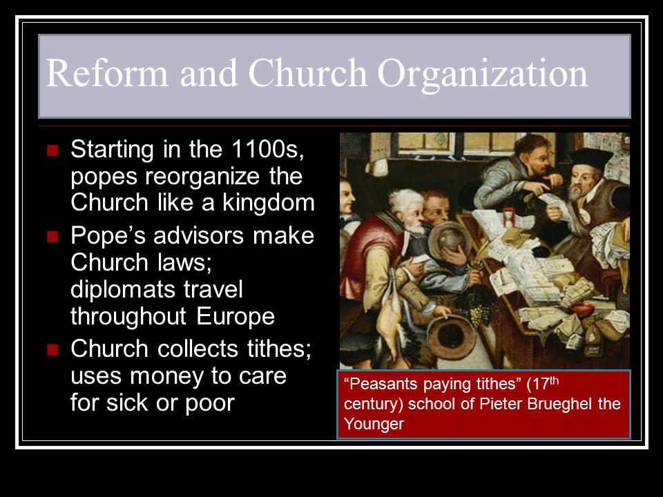 Reform and Church Organization