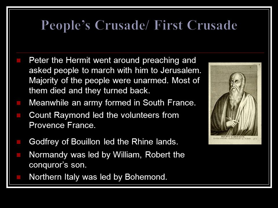 People's Crusade/ First Crusade