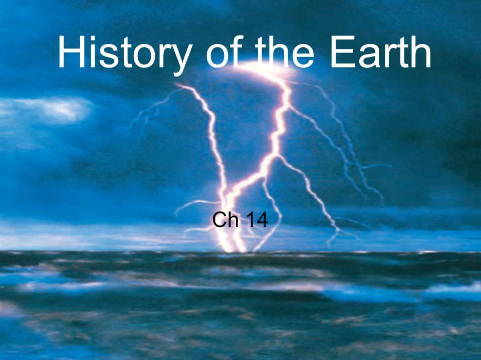 History of the Earth Ch 14