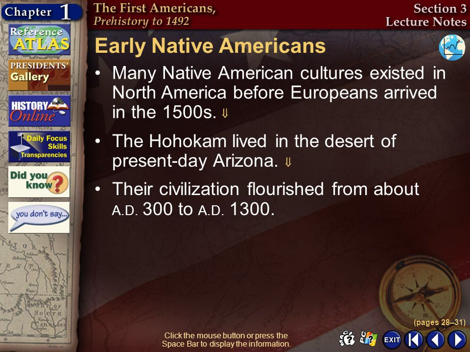 Early Native Americans