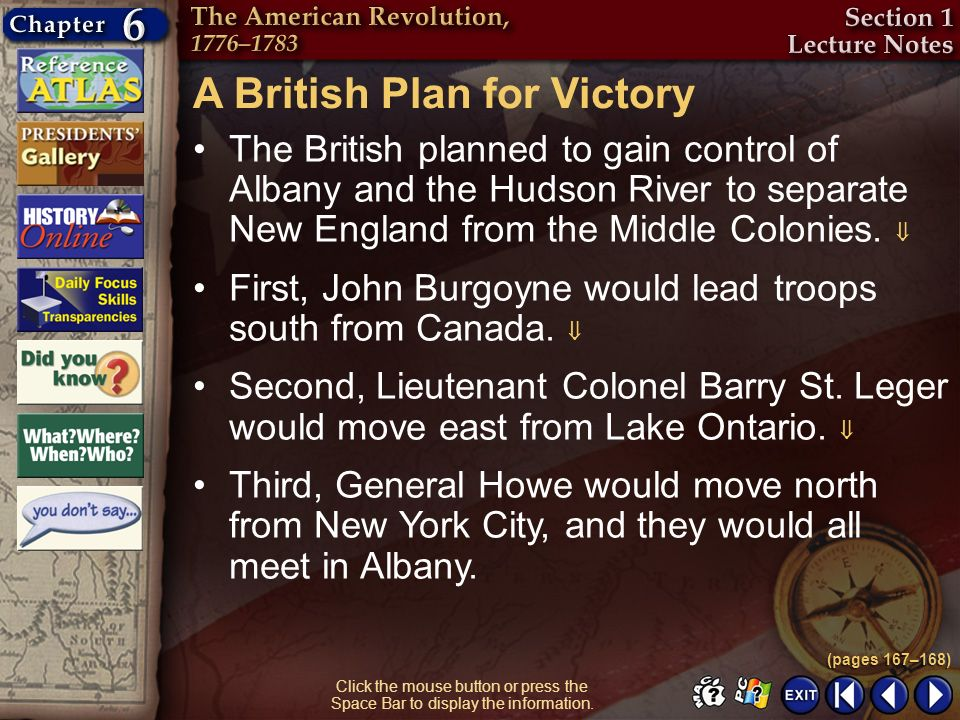 A British Plan for Victory