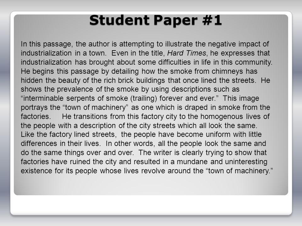 Student Paper #1