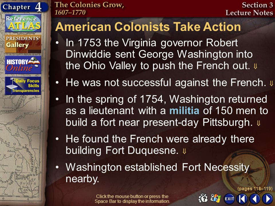American Colonists Take Action