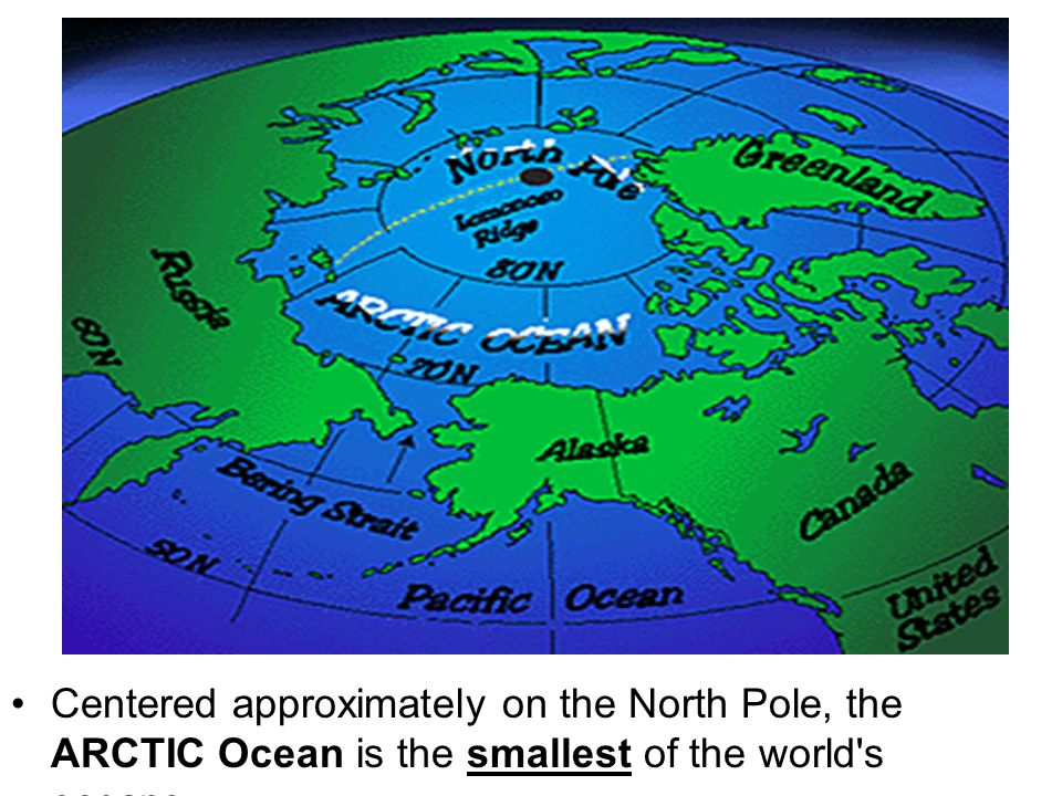 HISTORY OF THE OCEANS Ppt Video Online Download - Smallest ocean in the world