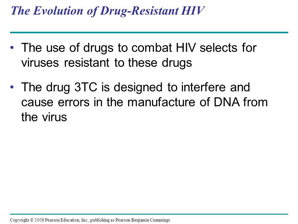 The Evolution of Drug-Resistant HIV