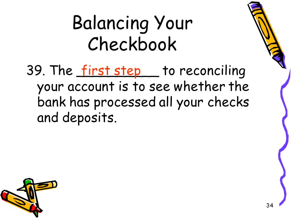 chapter 29 checking accounts pp ppt video online download