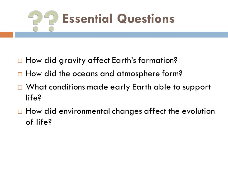 Lesson 2: Ancient Earth. - ppt video online download
