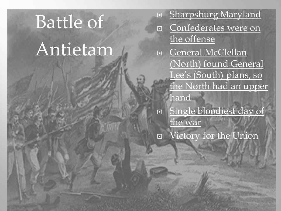 Battle of Antietam Sharpsburg Maryland