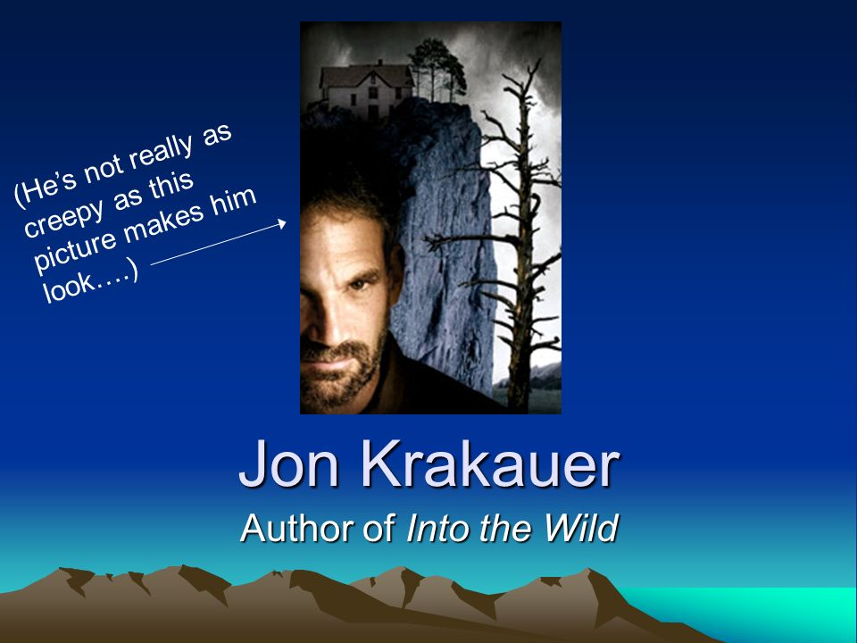 jon krakauer into the wild essays