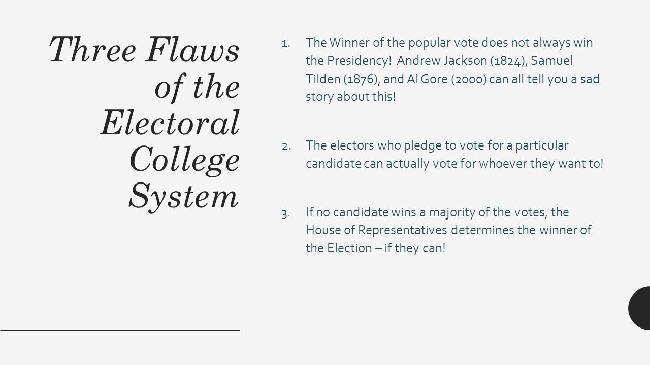 Uncategorized Electoral College Worksheet a worksheet about how to win the presidency ppt download three flaws of electoral college system