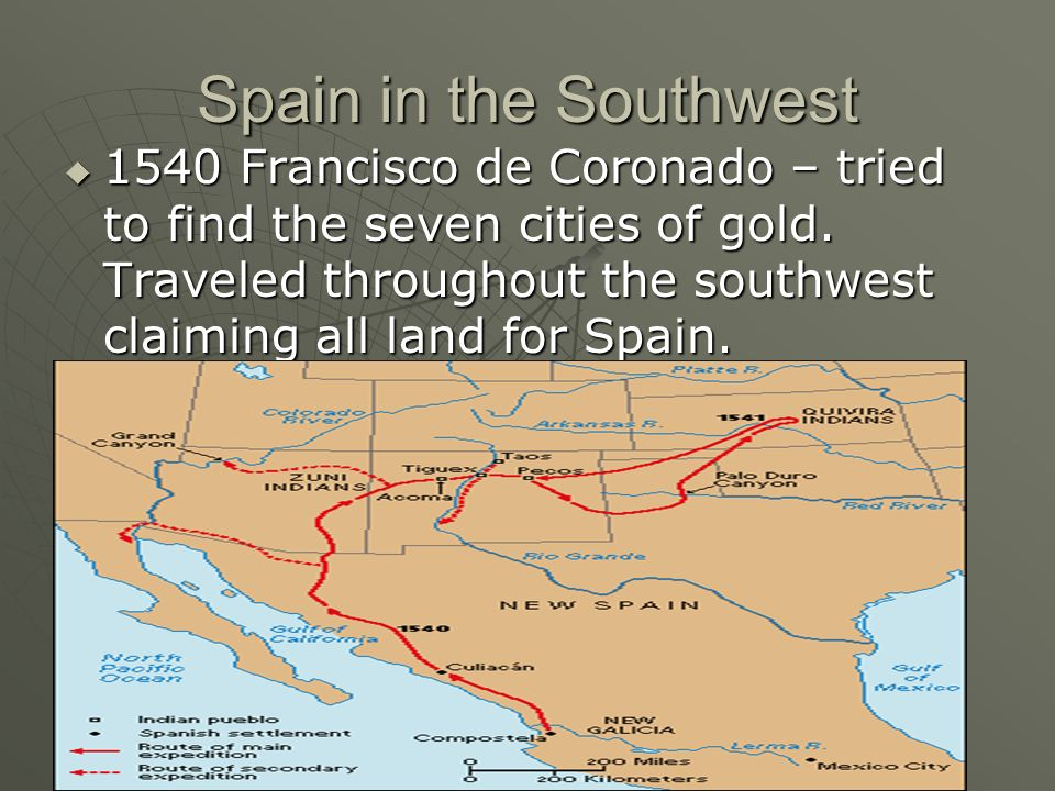 Spain in the Southwest