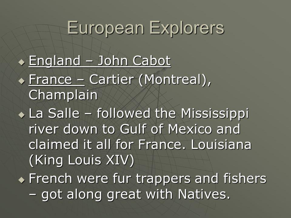European Explorers England – John Cabot