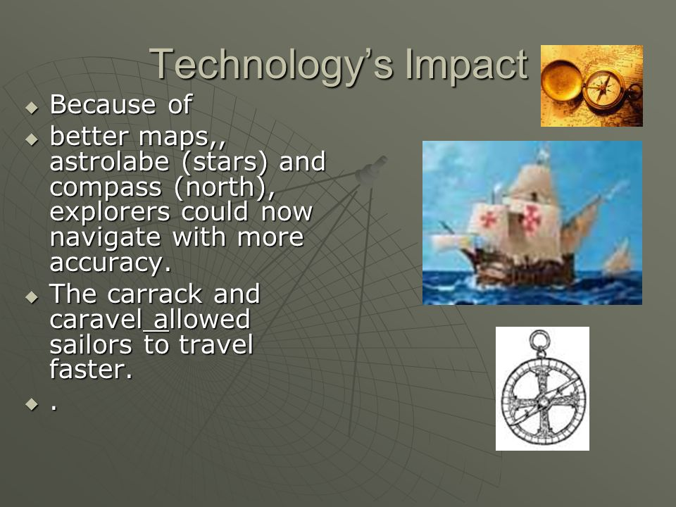 Technology's Impact Because of