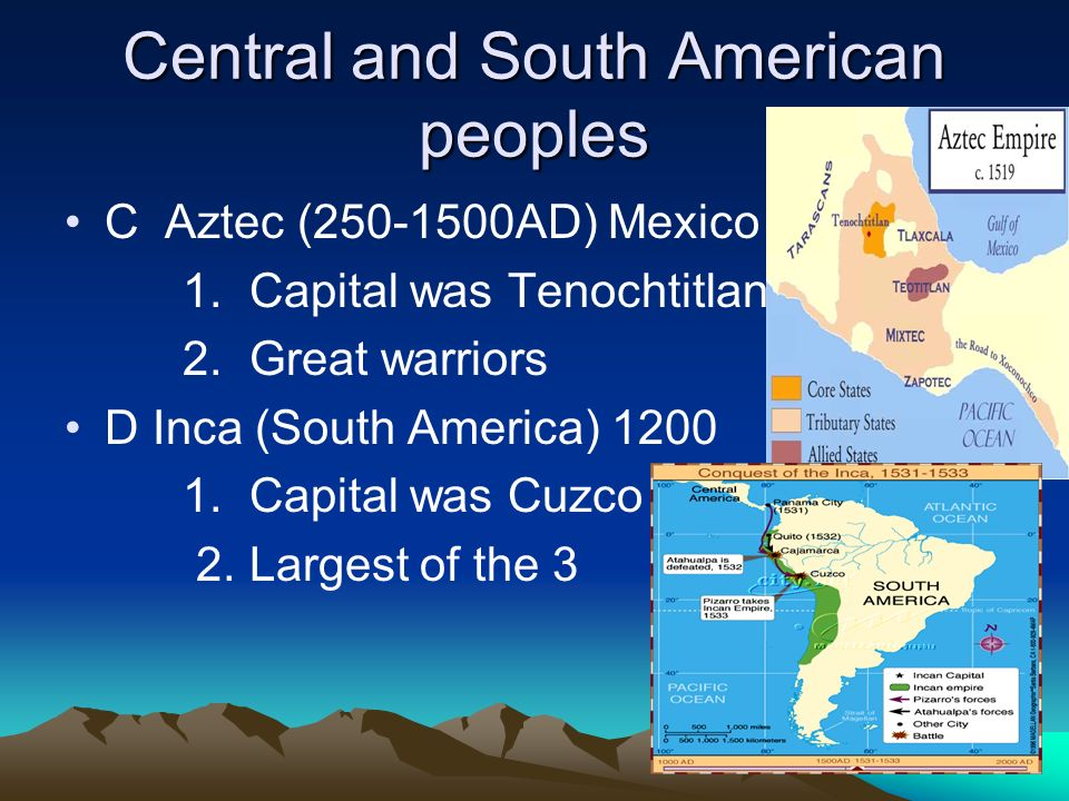 Central and South American peoples