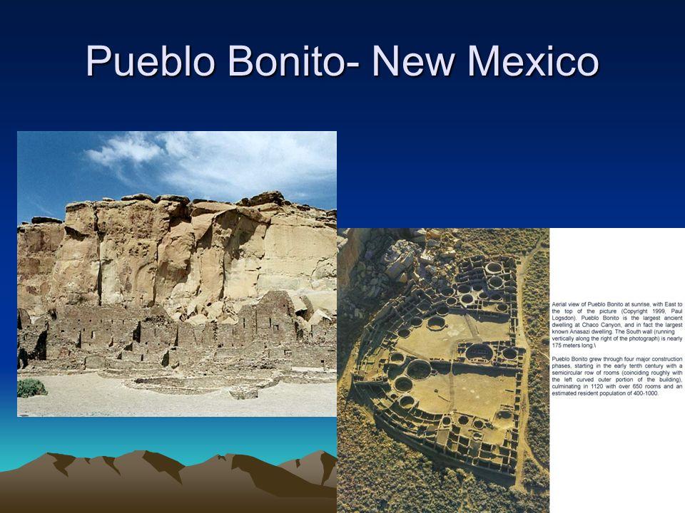 Pueblo Bonito- New Mexico