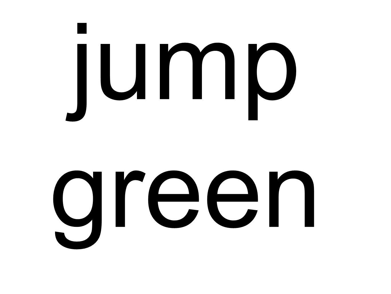 jump green