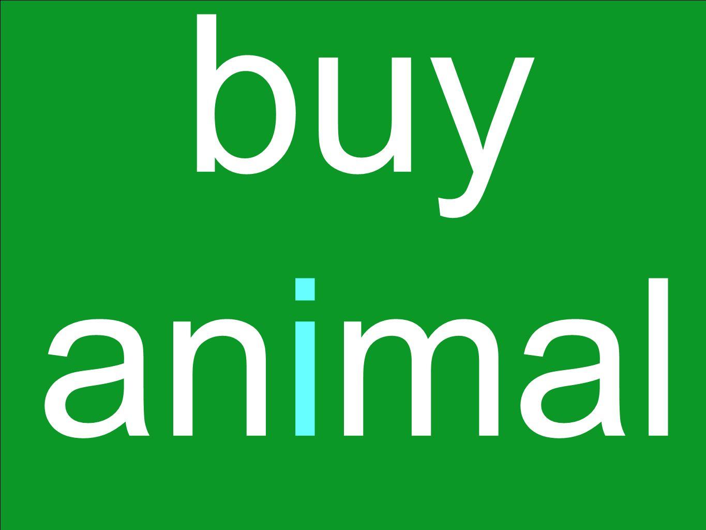 buy animal