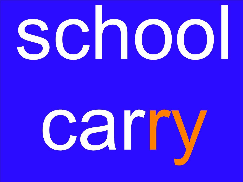 school carry