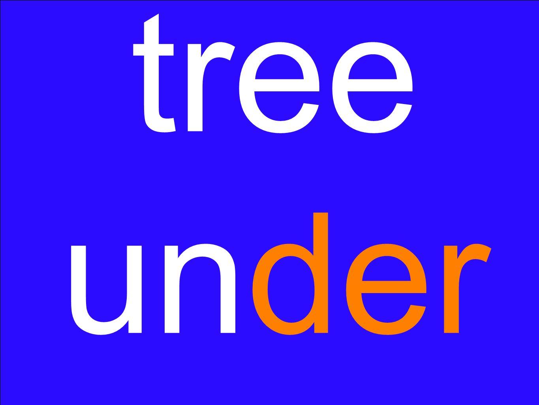 tree under