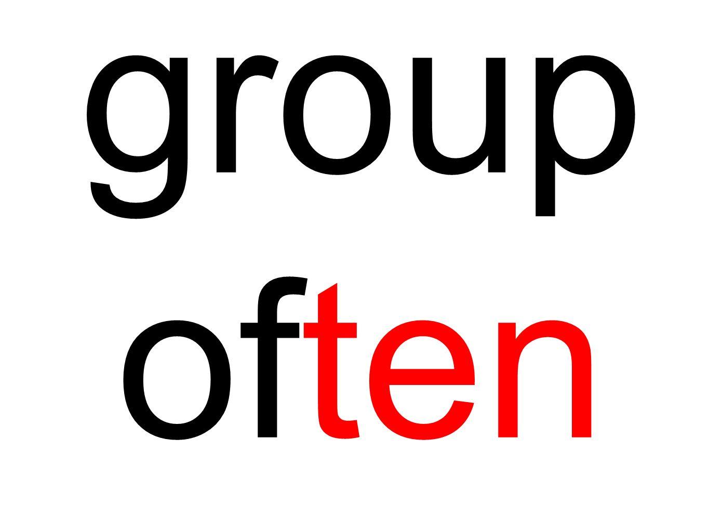 group often