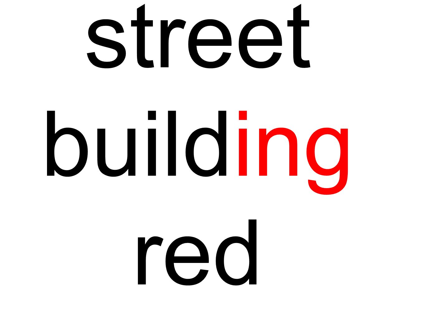 street building red