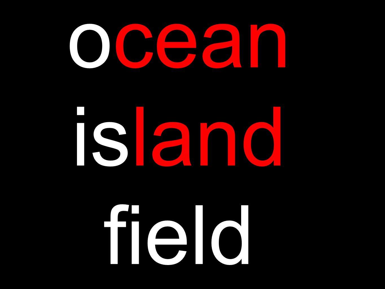 ocean island field
