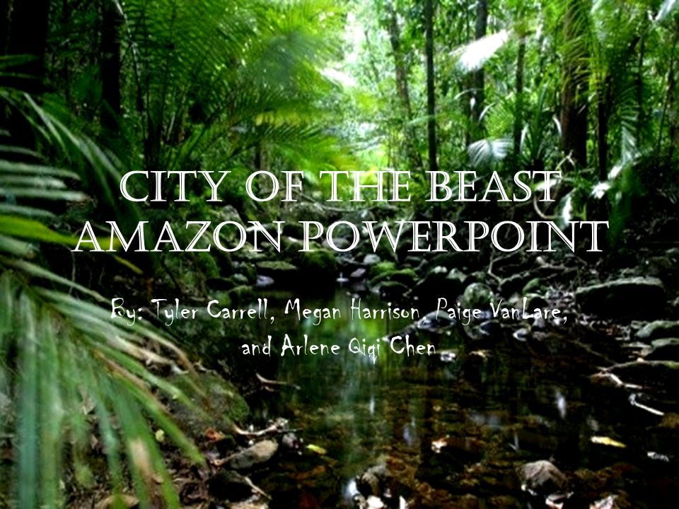 City of the Beast Amazon PowerPoint
