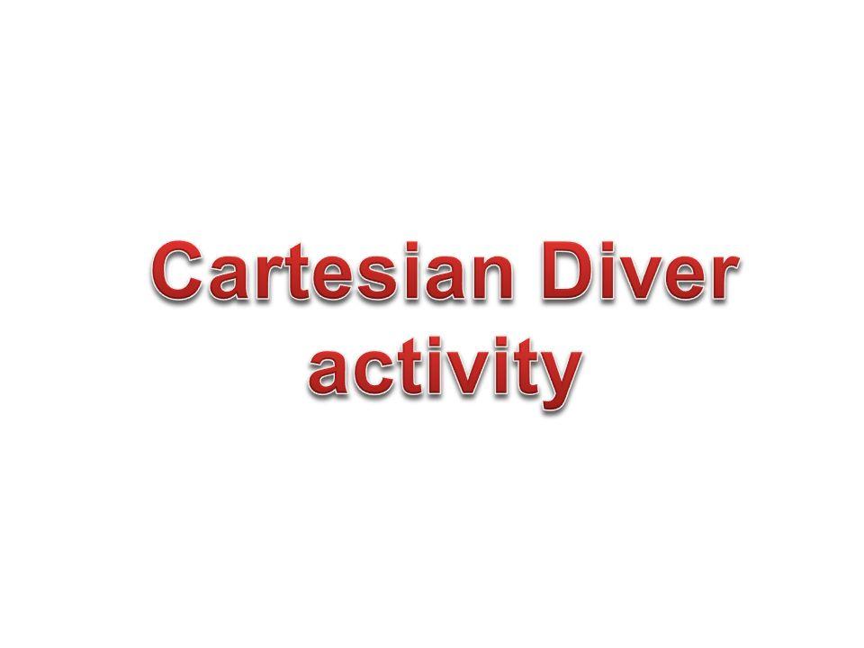 Cartesian Diver activity