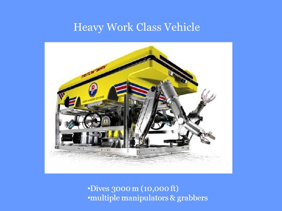 Heavy Work Class Vehicle