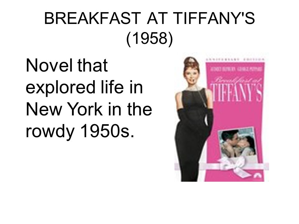 BREAKFAST AT TIFFANY S (1958)