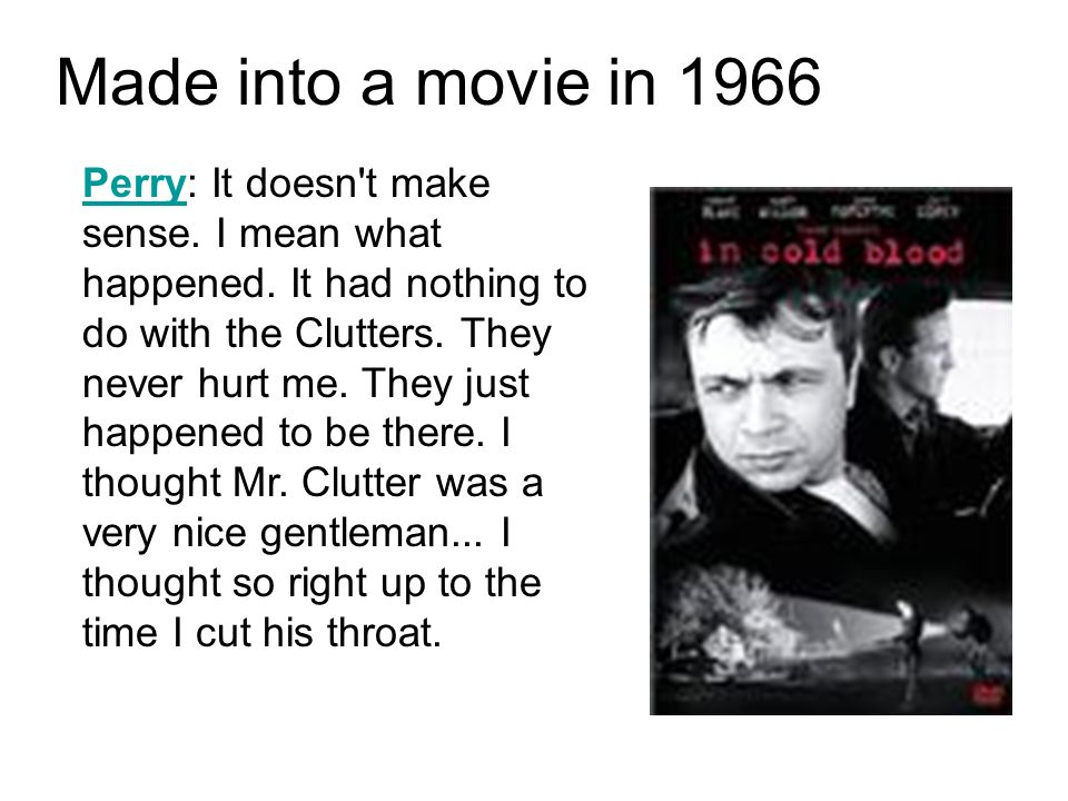 Made into a movie in 1966