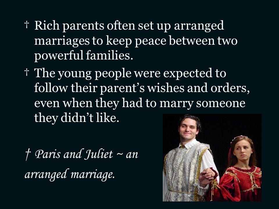 Paris and Juliet ~ an arranged marriage.