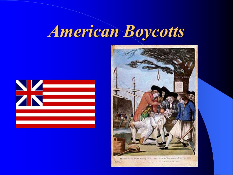 American Boycotts