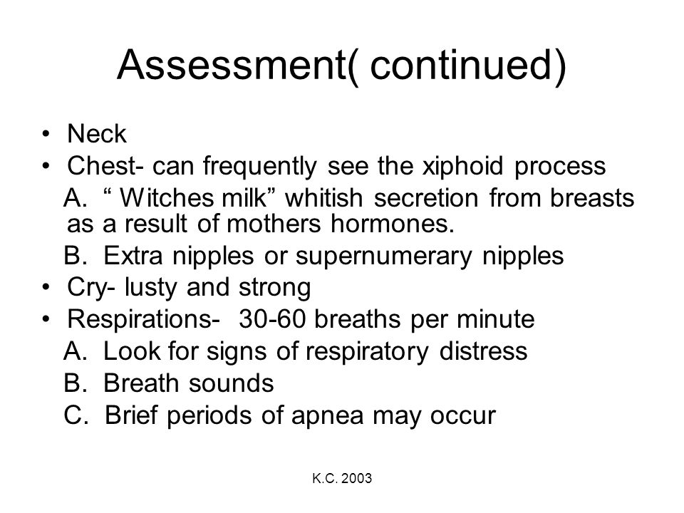 Assessment( continued)