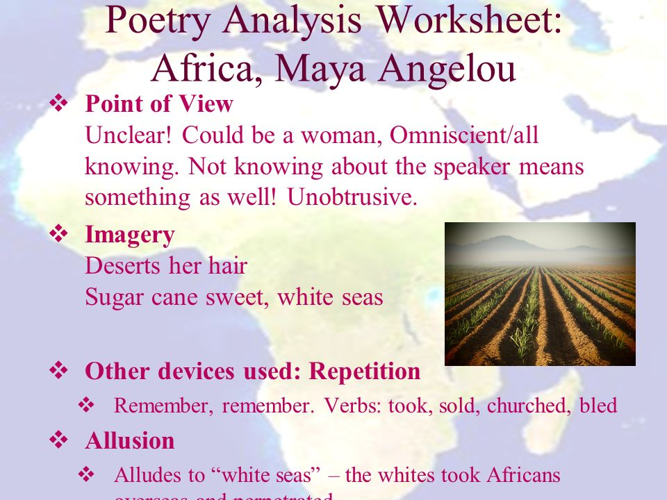 poetry analysis poor girl by maya angelou Browse through maya angelou's poems and quotes 53 poems of maya angelou phenomenal woman, still  for a pulitzer prize for her 1971 volume of poetry,.