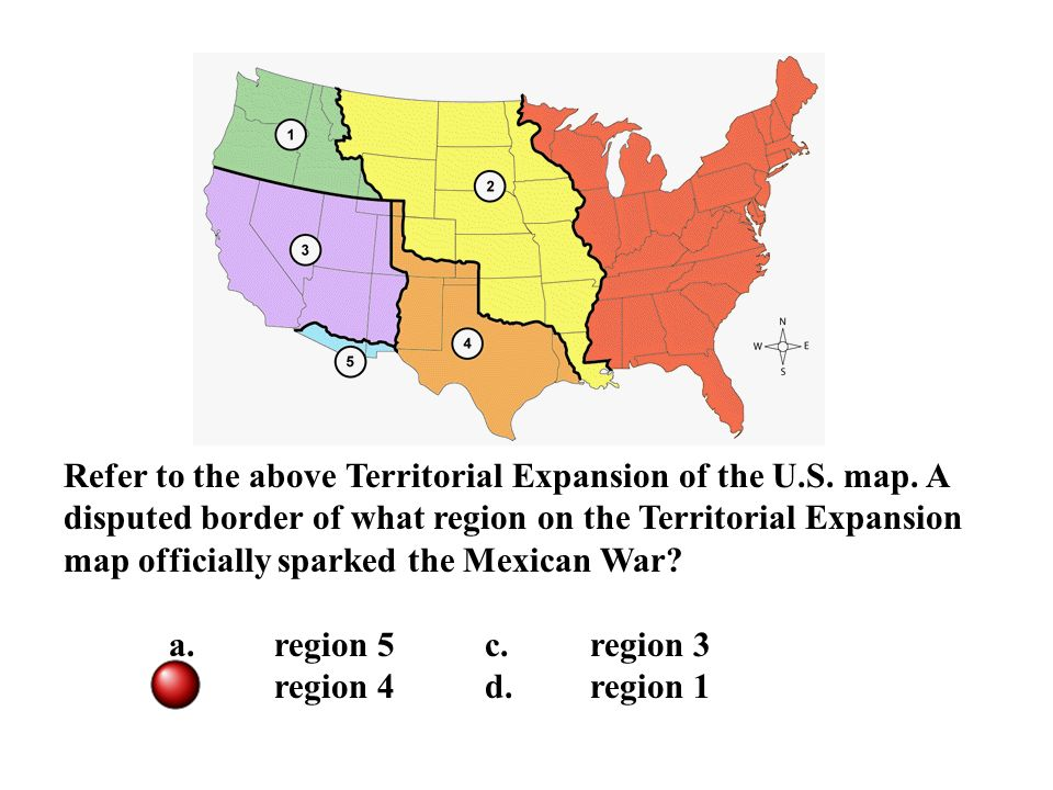 Reasons For US Westward Expansion Ppt Download - Us map territorial expansion