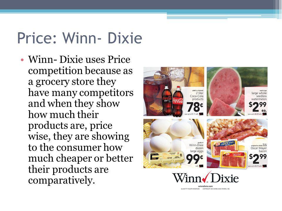 Price: Winn- Dixie