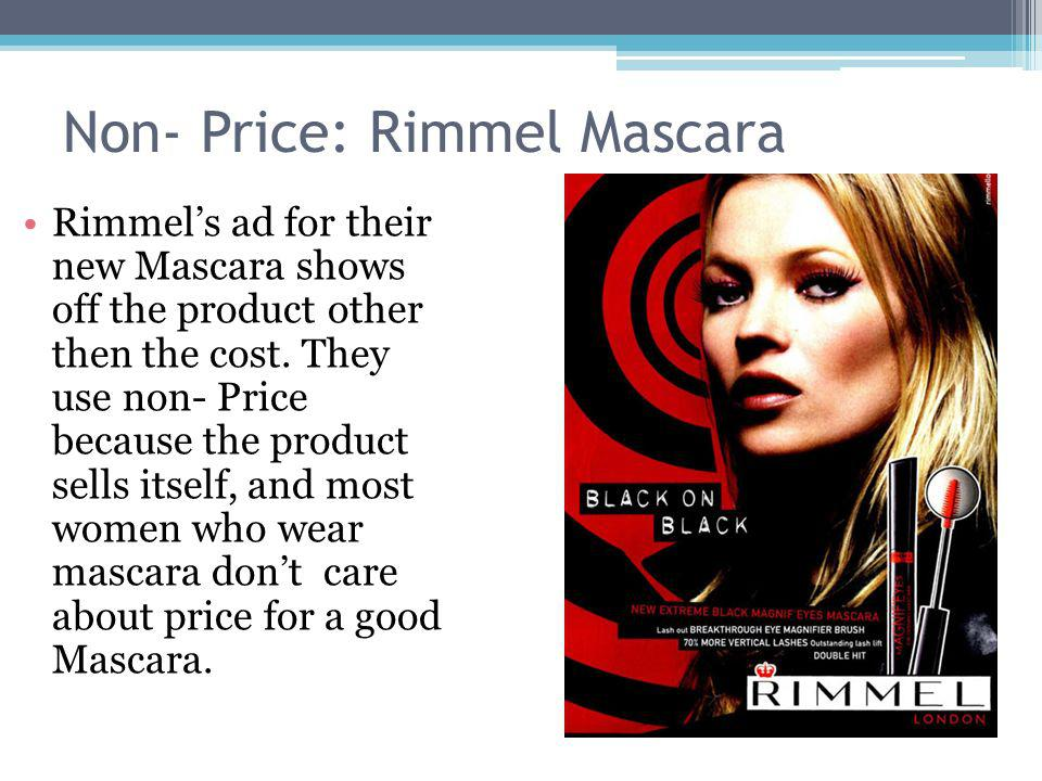 Non- Price: Rimmel Mascara