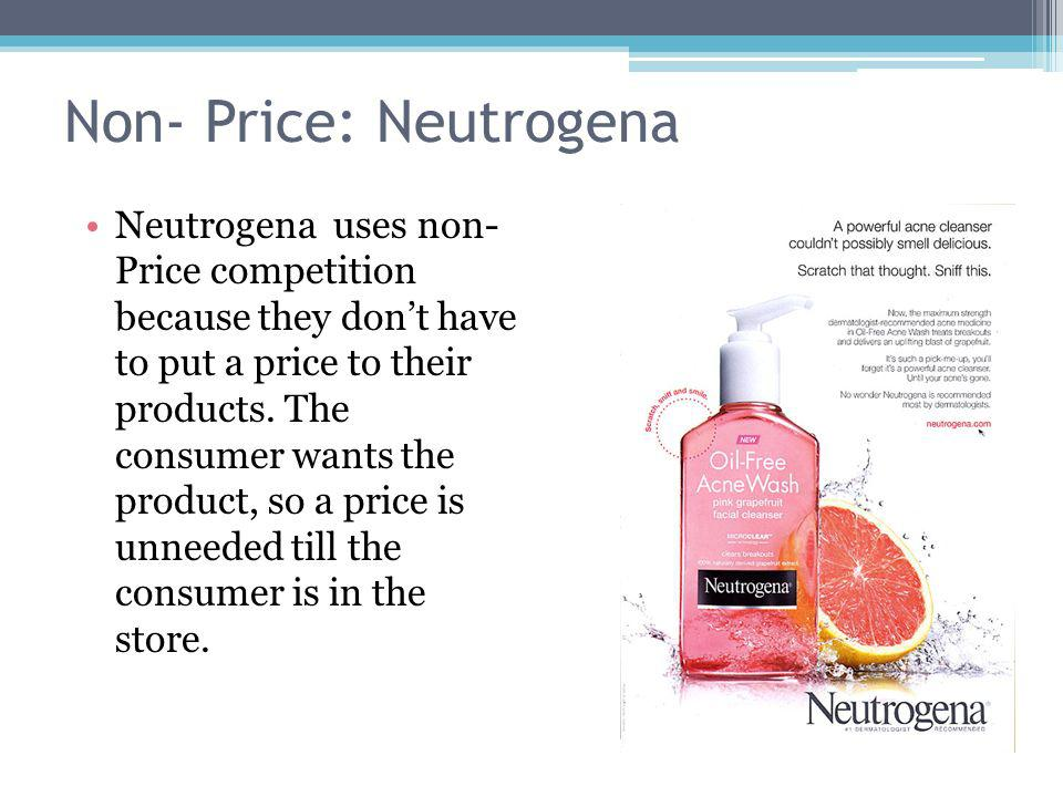 Non- Price: Neutrogena