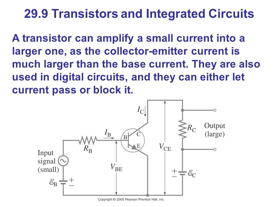 29.9 Transistors and Integrated Circuits