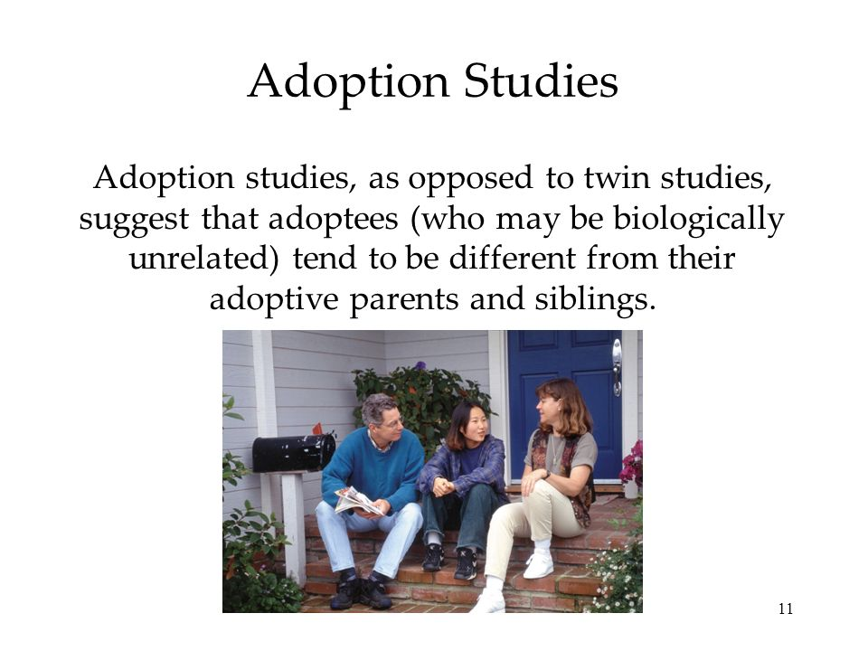 Adoption Studies