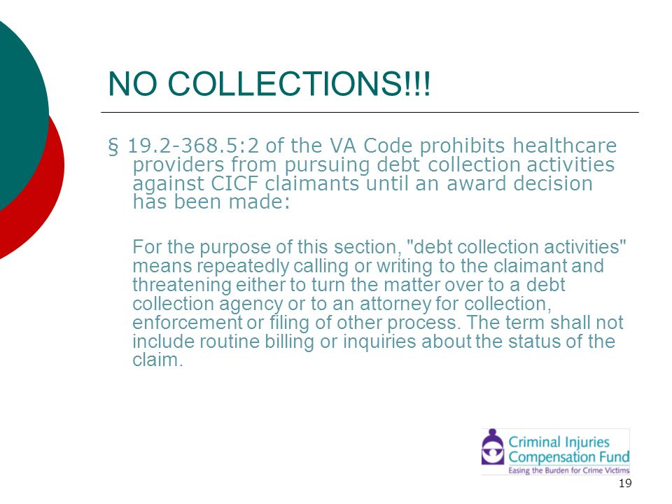 NO COLLECTIONS!!!
