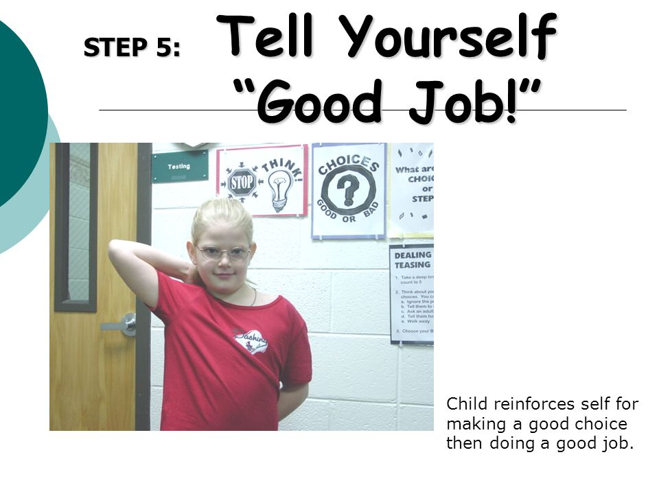 Tell Yourself Good Job!
