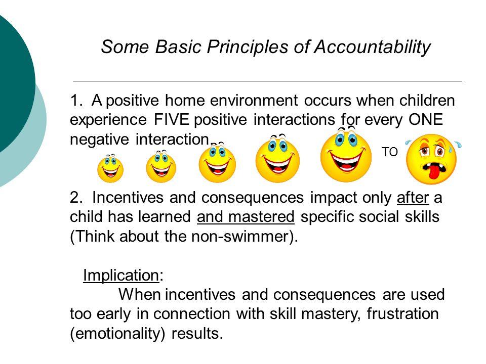Some Basic Principles of Accountability