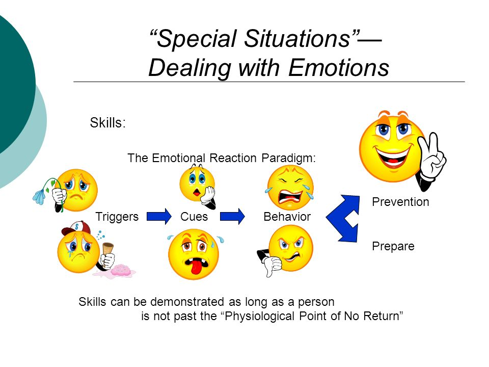 Special Situations —
