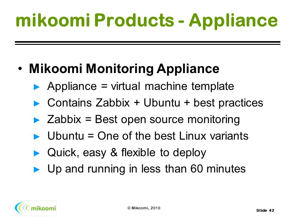 mikoomi Products - Appliance