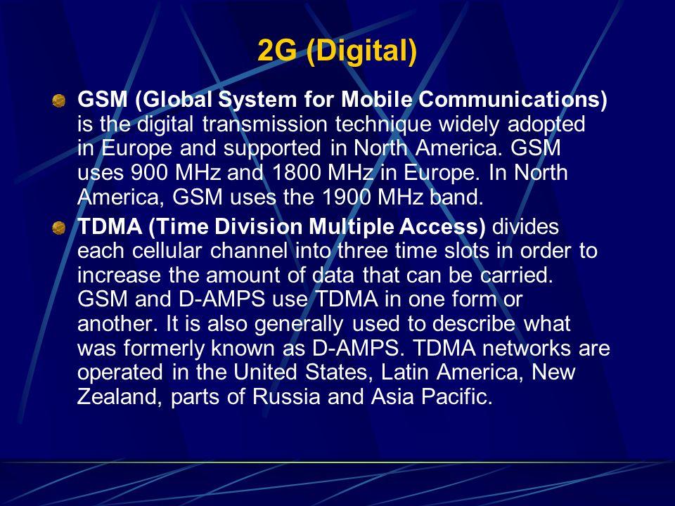 2G (Digital)