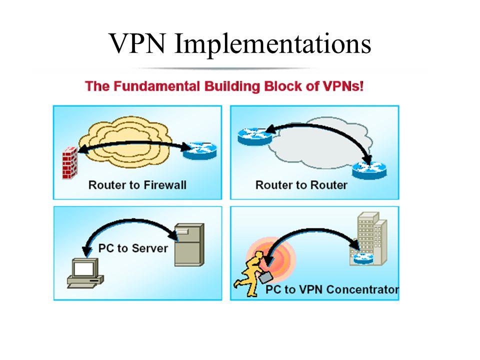 VPN Implementations